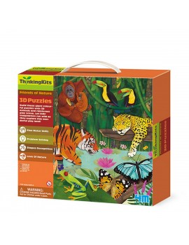 Puzzle 3D Foresta